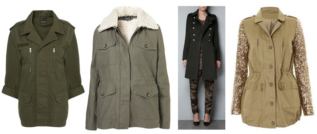 AW12 Must Have: The Military Jacket