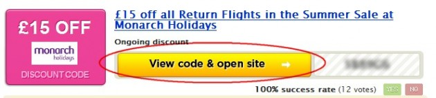 This Monarch Holidays discount code is valid on orders with minimum £ booking value. The discount should be automatically applied to all hotels and holidays – if not, use the promo code displayed under the button above.