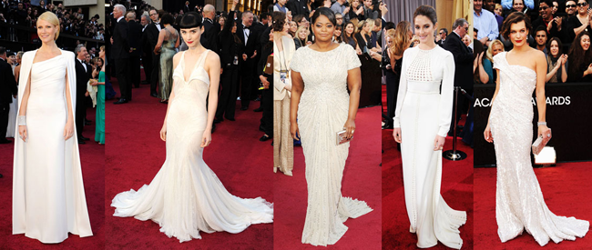 Hollywood Wows on the Oscars Red Carpet