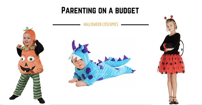 Parenting on a Budget: Halloween Costumes