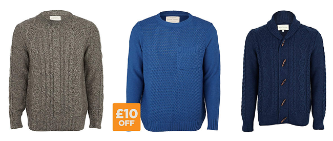 The Best of High Street Knitwear - Men's Edition