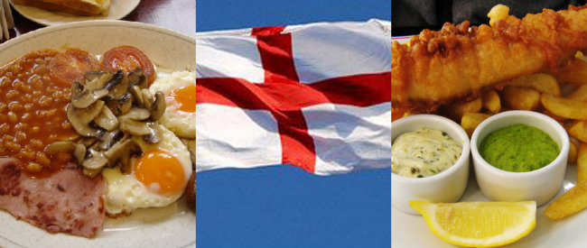 St George's Day Meal Plan