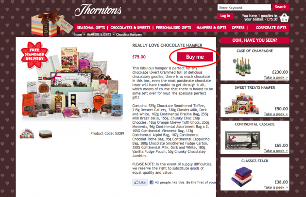 Thus, track the relevant Chocolate's voucher code and get handsome discount on different products. Get Huge Discount On Chocolate Gift Items If you want to buy chocolates and other gift items in bulk, must visit Thorntons to save money on all your purchases.