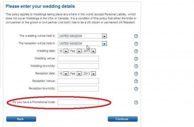 Insurance For Wedding Planners: Weddingplan Insurance Promo Codes, New Online