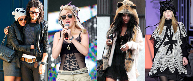 Get the look: Animal Headwear