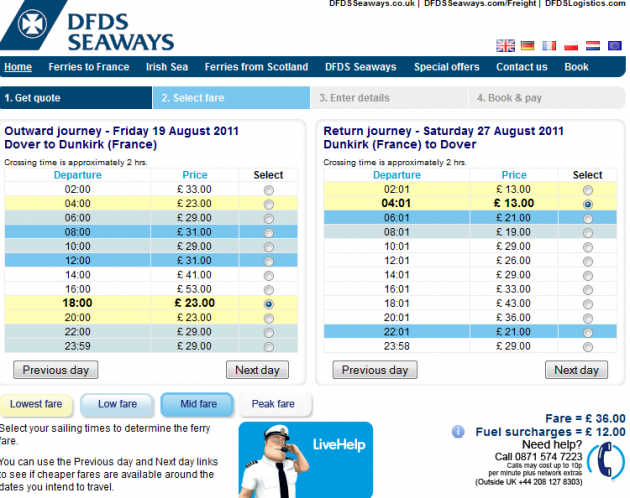 Dfds discount coupons
