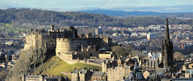 A Weekend in Edinburgh for 200 Quid