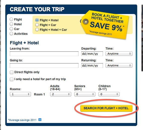 Expedia online coupon code