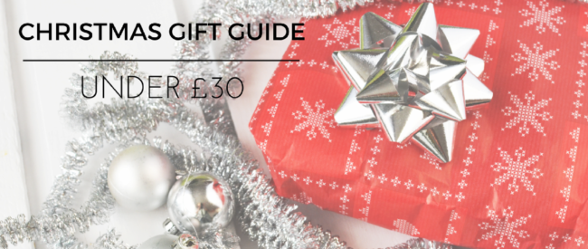 Christmas Gifts Under 30 Pounds