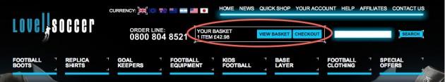 Lovell soccer coupon code