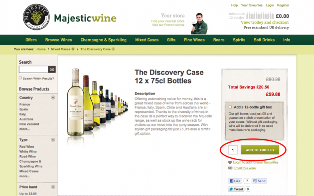 Majestic Wine Discount Codes & Promo Codes. Sale 2 used today Top Wine Offers At Majestic Wine Today! Enjoy the savings on top wines at Majestic Wines now! See sale Top 10 Sparkling Offers At Majestic Wine Now! Majestic Wines discounts sparkling now!