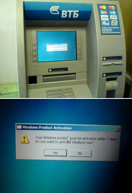 Windows ATM