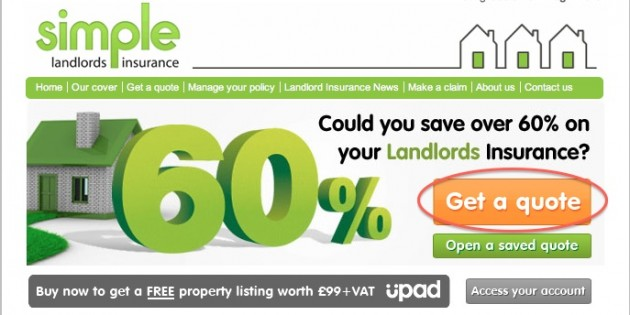 Landlord Insurance Quote Pleasing Simple Landlord Insurance Promo Codes New Online