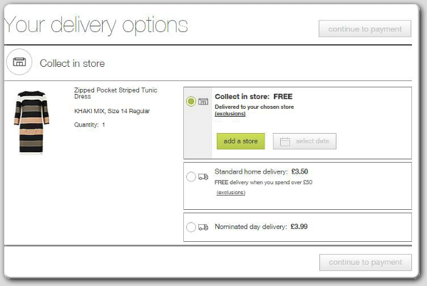 Marks & Spencer: Delivery Options M&S shoppers enjoy free UK home delivery on orders o ver £ If your order doesn't fall into that category, choose Standard UK Delivery for £ or Nominated Day Delivery for £