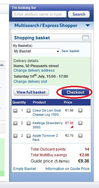 Redeem tesco coupons online