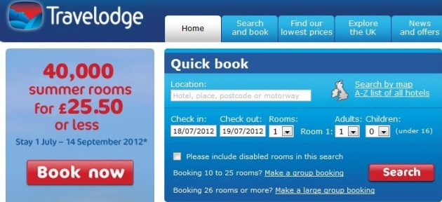 Coupons travelodge