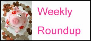 Weekly frugal roundup