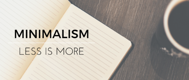 How Minimalism Can Save You Time and Money